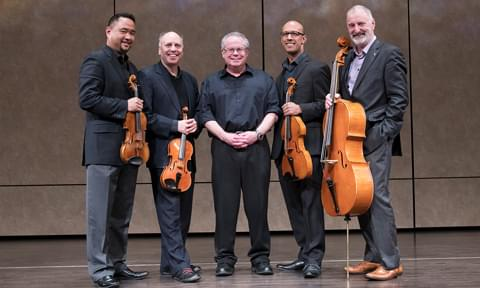 Alexander String Quartet with Robert Greenberg
